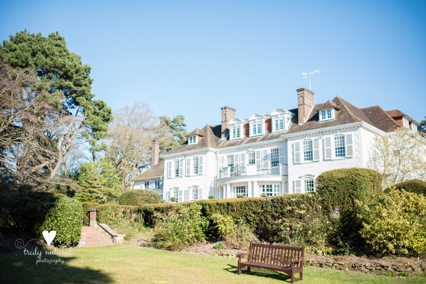 An Edwardian Manor House set on 17th acres of ground -a beautiful place for weddings