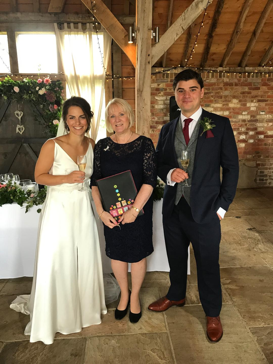 Jenny Wedding – The Long Barn, Newton Valence, GU34  photo Yvonne's Iphone