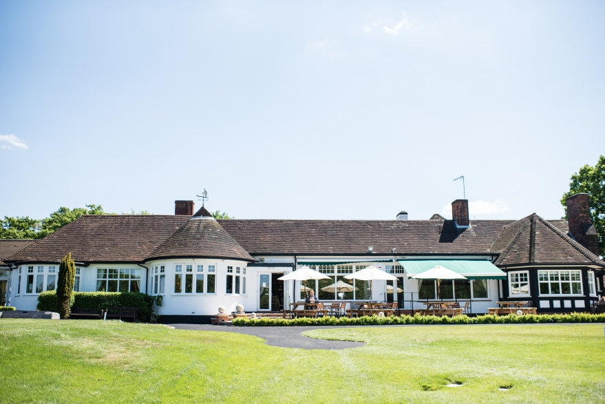 The main building of Surbiton Golf Club