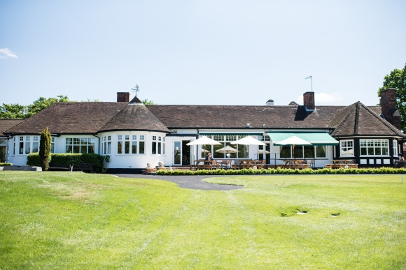 The clubhouse building of the Surbiton Golf Club